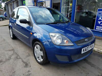 2007 FORD FIESTA 1.25 STYLE CLIMATE 3 DOOR MOT AUGUST