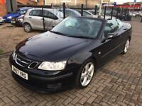 2007 Saab 9-3 2.0T Aero Automatic Convertable Long Mot 2 Owners Bargain