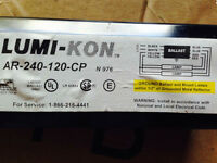 New Ballast for Fluorescent Light fixture + 3 Free lamps