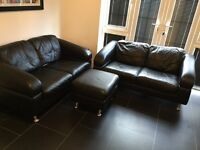 DFS Leather sofas