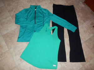 Big bag of little worn exercise/leisure tops and bottoms