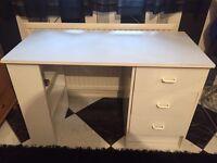 White Desk Table.