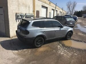 2004 BMW X3 safety and Etest
