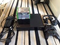 Xbox one 500 GB + Games