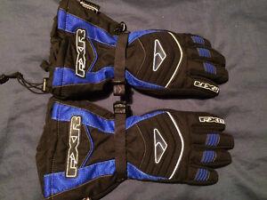 FXR snowmobile gloves