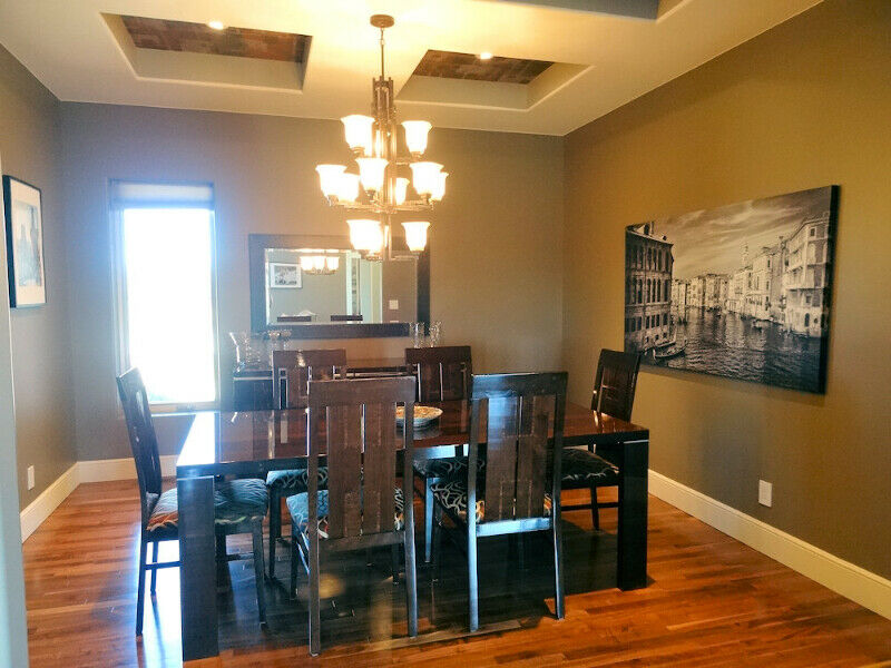 Stunning Dining Room Table 6 Chairs And Buffet Server Set Dining Tables Amp Sets Thunder Bay