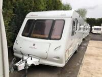 2006 Elddis Odyssey 540 4 Berth caravan FIXED DOUBLE BED AWNING BARGAIN !