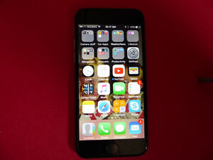 REDUCED, MINT iPhone 6 16 GB, LIKE NEW, with APPLE LEATHER case