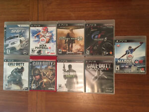 PS3 Games - $10 each