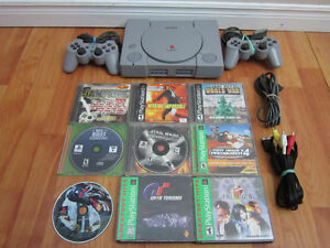 PS ONE Console With Games Bundle