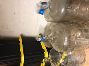 Wine and spirits  making carboys