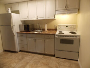 1 bedroom basement apartment for single occupancy for rent