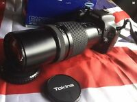 CANON EF FIT TOKINA EMZ 130AF AUTOFOCUS ZOOM LENS, METAL MOUNT, SUPERB CONDITION!!