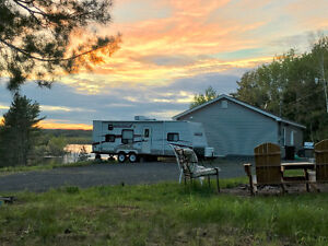Beautiful Waterfront Cottage on 3+ Acres