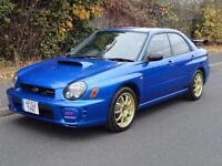 2002 Subaru Impreza S202 LIMITED EDITION OF 400 CARS. 316BHP 2.0 4dr