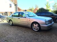 Mercedes e430 long mot