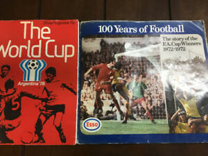 Vintage Soccer World Cup Program 1978 and Story of F.A Cup