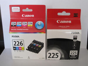 Genuine Canon Pixma Inkjet Printer Cartridges PGI-225 CLI-226