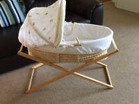Moses basket - by Mothercare