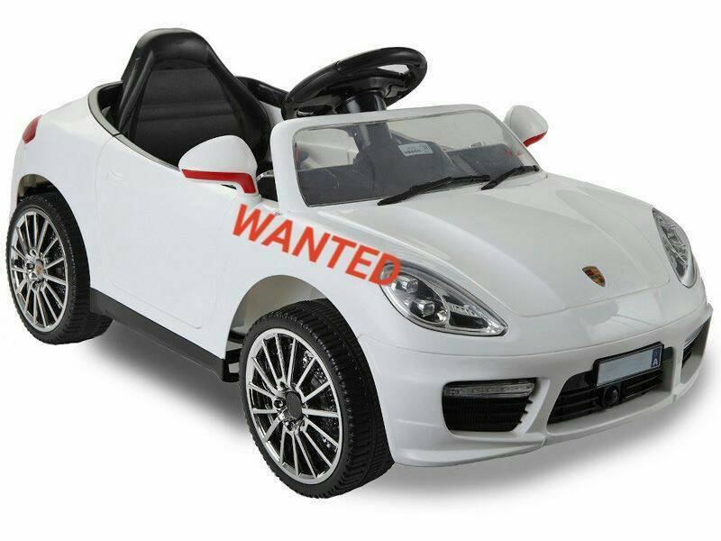 WANTED Im looking for a childs ride on electric car. What do you have? Cash waitingin Weymouth, DorsetGumtree - WANTED Im looking for a childs ride on electric car. What do you have? Cash waiting