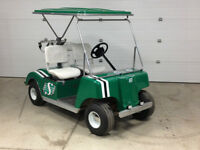 Restored golf cart