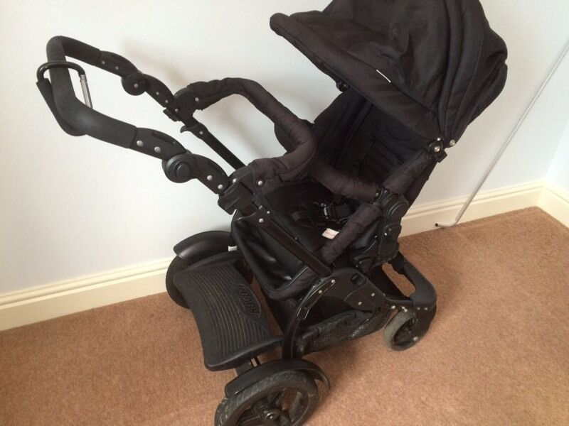 Obaby Zezu tandem with Maxi Cosi car seat and isofix base | in ...