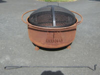 Never Used! Molson Canadian Fire Pit