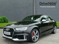 2018 Audi RS3 2.5 TFSI S Tronic quattro (s/s) 4dr Saloon Petrol Automatic