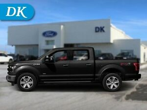 2015 Ford F-150 Lariat 502A 4WD w/Leather, Moonroof, and More!