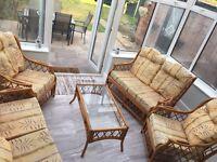 Conservatory furniture set £50