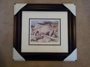 """""""Rock Study"""" Lithograph by A.J. Casson appraised at $650 Sarnia Sarnia Area image 5"""