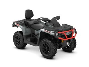 2018 Can-Am Outlander MAX XT 850 Brushed Aluminum  Can-Am Red