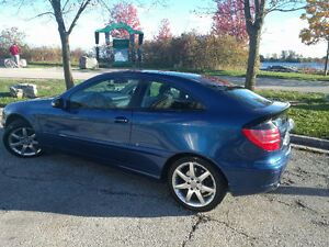 2002 Mercedes-Benz C230 Supercharged 6 Speed Coupe Hatchback