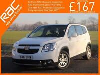 2012 Chevrolet Orlando 2.0 VCDI Turbo Diesel 163 BHP LT Auto 7-Seater MPV Climat