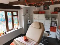 Beauty treatments, waxing, facials, massage