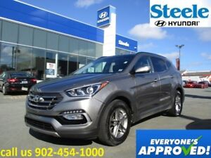 2017 Hyundai SANTA FE SE AWD Sunroof Leather backup camera loade