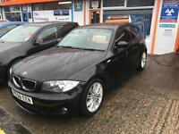 BMW 118 2.0TD ( Dynamic pk ) 2008MY d SE Black M Sport Diesel