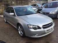 2005 '05' Subaru Legacy 2.5i, 4 Door Saloon, 4WD, AWD, Manual, Petrol.