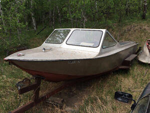 24.5 Foot Aluminum Steel Jet Boat