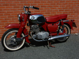 HONDA CA72 DREAM TOURING 250cc 1964 FOUR SPEED BOX WITH ELECTRIC START