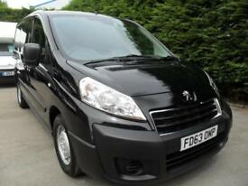 Peugeot Expert 1.6HDi 90 2014 L1 H1 3 seater black ( citroen dispatch )