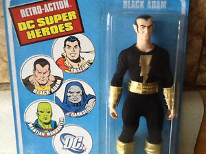 2010 DC RETRO ACTION SUPER HEROE BLACK ADAM London Ontario image 1
