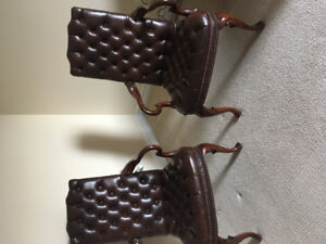 Quality Leather Arm Chairs
