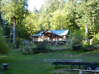 Beautiful, private, forested acreage in cozy Halfmoon Bay