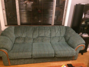 Hideabed  Sofa , LoveSeat and 2 recliners -all for 250$