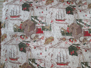 NEW Man Cave/Lodge/Fishing excellent quality fabric 10 yards London Ontario image 4