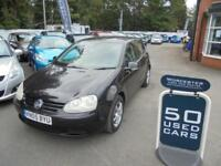 2005 Volkswagen Golf 1.6 S FSI 5dr [AC] 5 door Hatchback