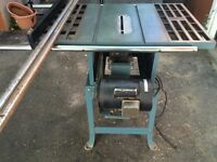 10'' Toolex Table Saw with Extension Bars