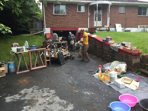 Garage sale - 1920 lawrencetown road