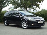 Vauxhall Astra 1.6i 16v Design Estate Alloys Aircon HalfLeather ParrotHandsfree